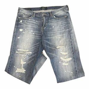 Lucky Brand Sienna Slim Boyfriend Jeans Light Wash Women's Size 14